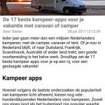 DroidApp App 2.1 tekstgrootte