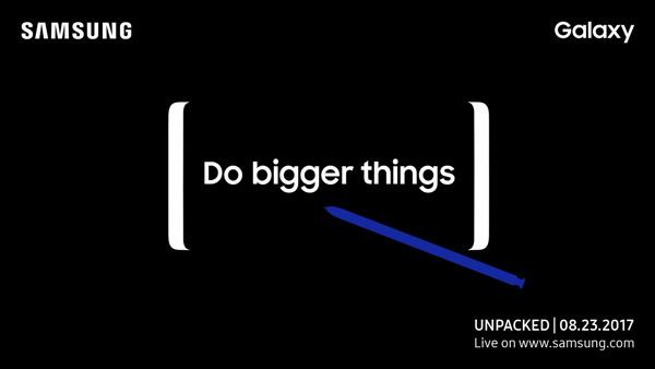 Galaxy Note 8 23 augustus