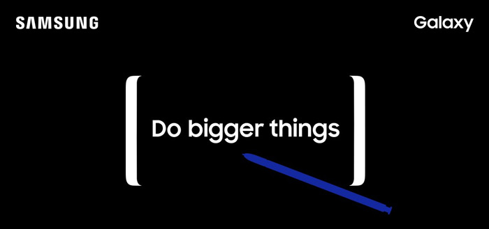 Samsung Galaxy Note 8 opgedoken in brochure en nieuwe live foto's