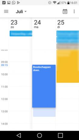 Google Agenda 5.7.25