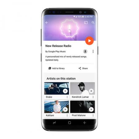 Google Play Music persoonlijke afspeellijsten