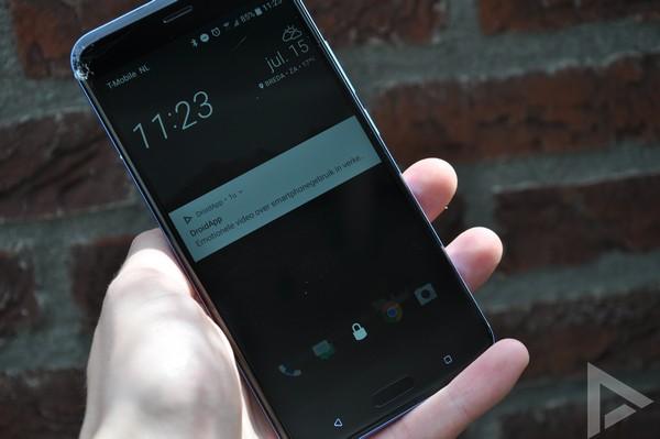 HTC U11 lockscreen