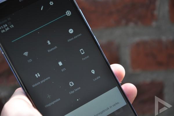 HTC U11 snelle instellingen