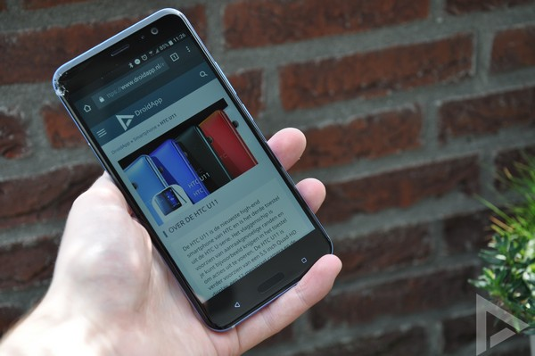 HTC U11 internet