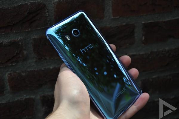 HTC U11 achterkant