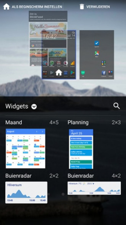 HTC U11 BlinkFeed uitschakelen