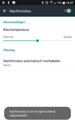HTC U11 nachtmodus
