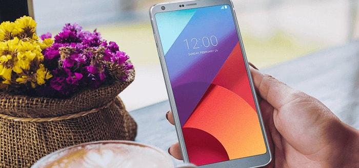LG begint met uitrol Android 8.0 Oreo beta voor LG G6 (screenshots)