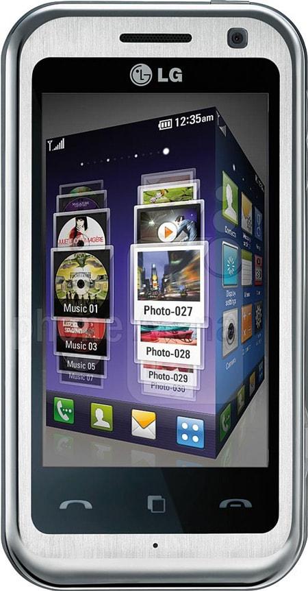 De vergeten smartphone: LG KM900 Arena