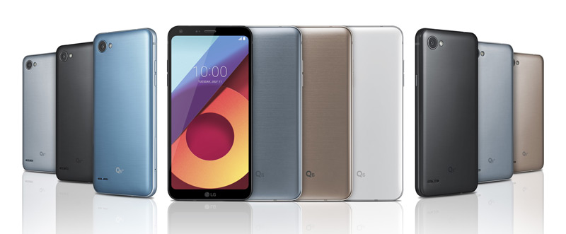 LG Q6 familie