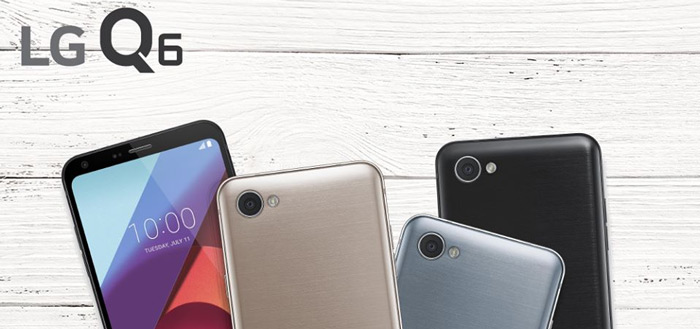 LG begint totaal onverwacht met uitrol Android 8.1 Oreo voor LG Q6