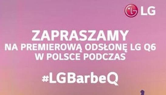 LG Q6 uitnodiging