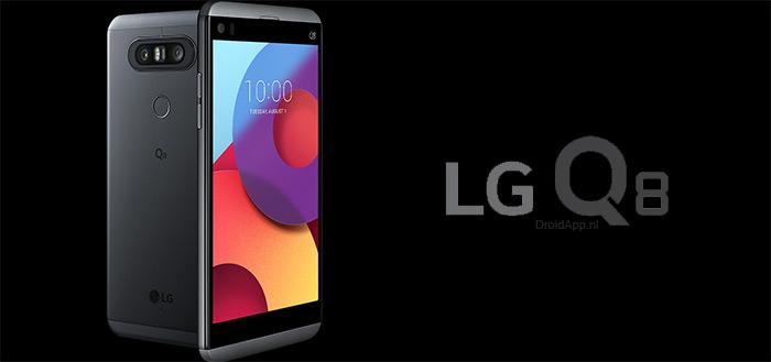 LG Q8 aangekondigd: FullVision met tweede display en dual-camera