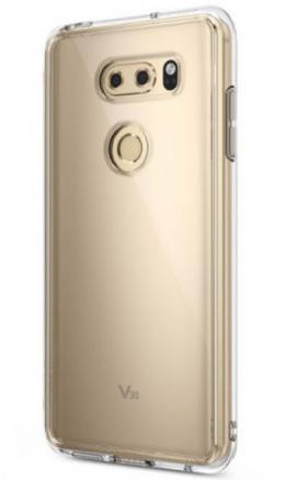 LG V30 case foto goud