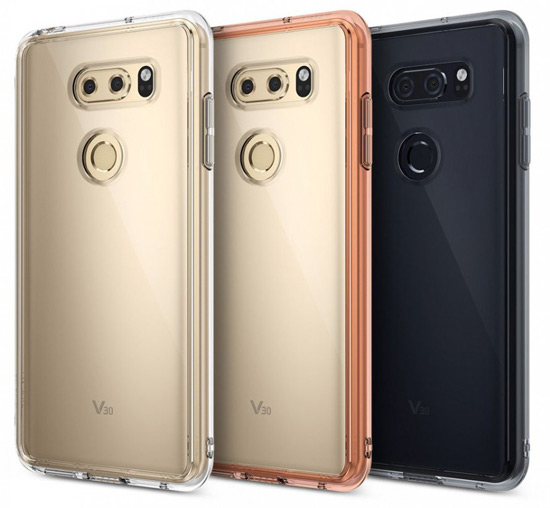 LG V30 foto's case
