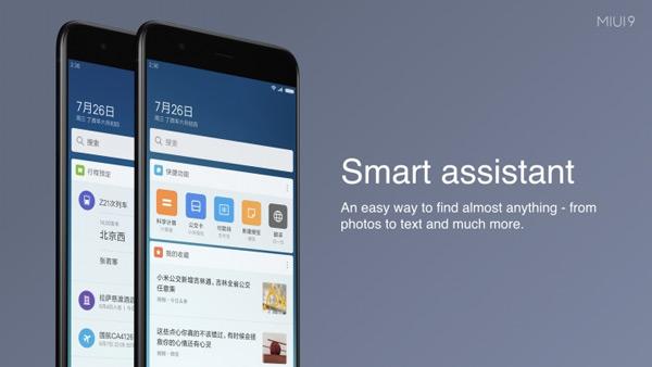 MIUI 9 Smart Assistant