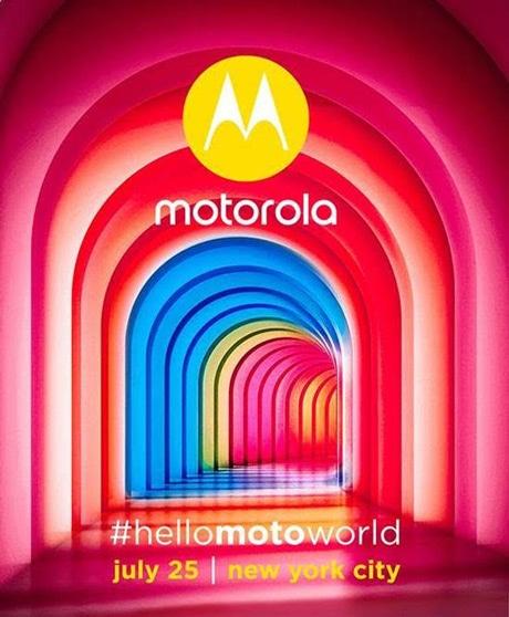 Motorola aankondiging 27 juli 2017