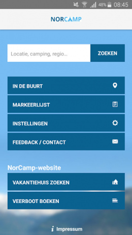 NorCamp app