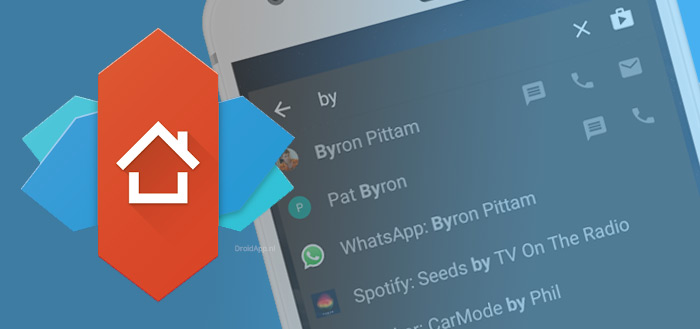 Nova Launcher 5.4 krijgt erg handige 'Sesame Shortcuts'