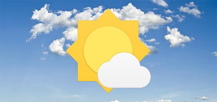 OnePlus brengt eigen weer-app uit in de Google Play Store