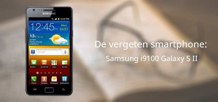 Samsung Galaxy S II vergeten