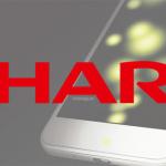 Sharp smartphone met vingerafdrukscanner onder scherm uitgelekt