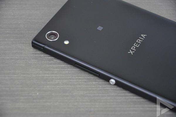 Sony Xperia XA1 achterkant