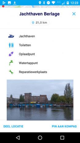 VaarWater app
