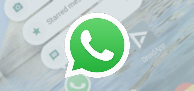 WhatsApp 2.17.277 update brengt handige App Shortcuts (+ APK)