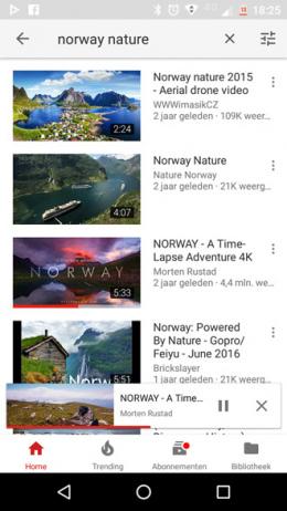 YouTube afspeelbalk