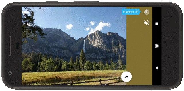 Bewegende Foto's app