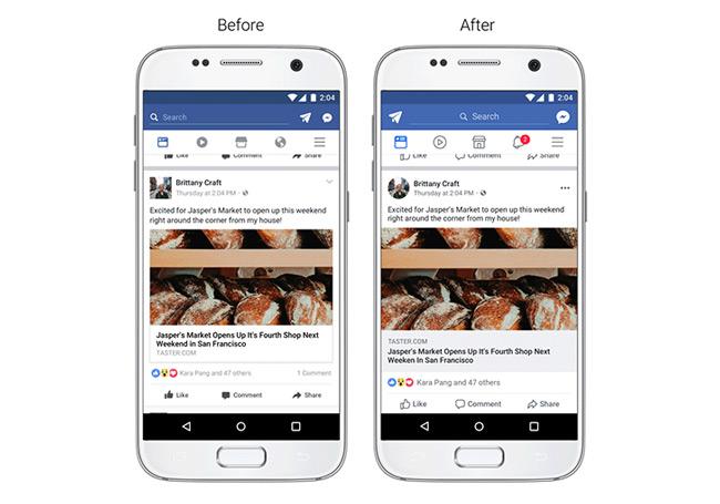 Facebook tijdlijn
