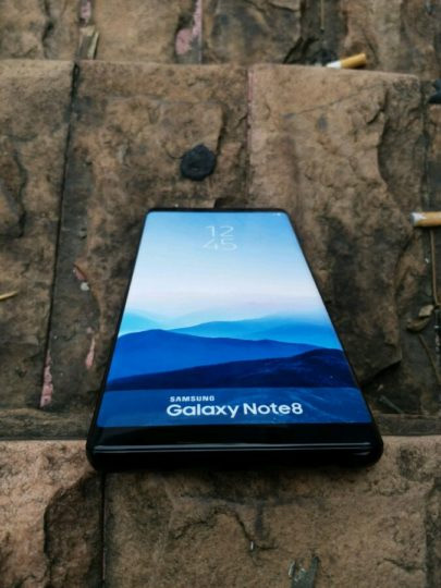 Samsung Galaxy Note 8 dummy