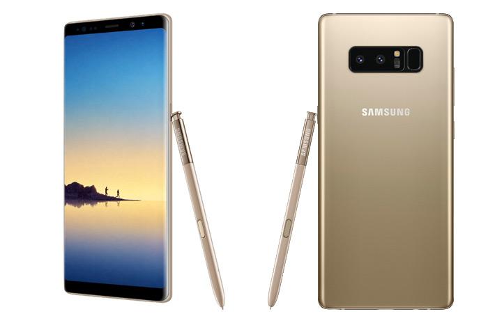 Samsung Galaxy Note 8 goud gold