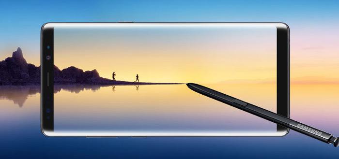 Samsung Galaxy Note 8 ontvangt de beveiligingsupdate van november