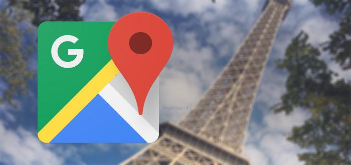 Google Maps app krijgt vernieuwde zoekresultaten met icoontjes