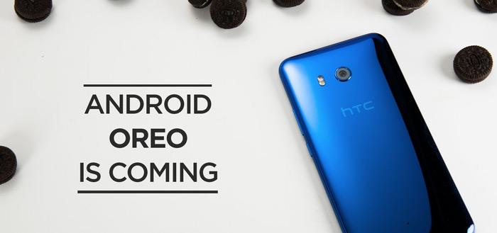 HTC in vergevorderd stadium voor ontwikkeling Android 8.0 Oreo voor HTC U11