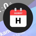 Hurry: een schitterende countdown-app van Sam Ruston vol mogelijkheden