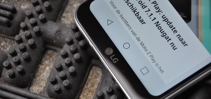Nog onbekende LG smartphone laat zich zien voor camera; Q7?