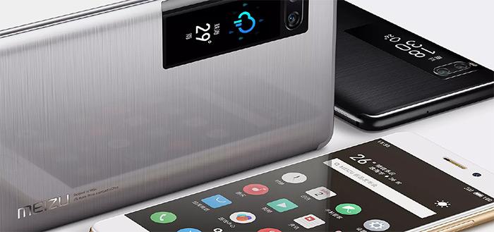 Meizu Pro 7 en Pro 7 Plus komen naar Europa: bijzonder toestel met display aan achterkant