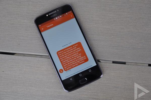 Moto E4 Plus sms