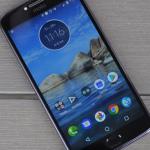 Foto nieuwe Moto E5 uitgelekt: met vingerafdrukscanner aan achterzijde