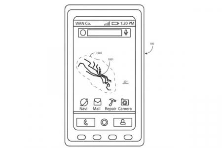 Motorola zelfhelend display
