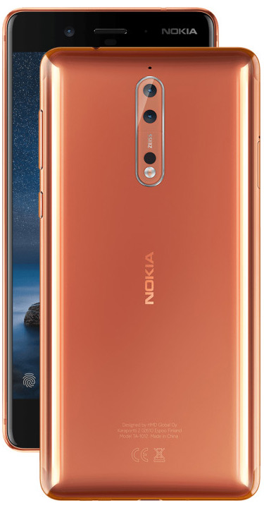 Nokia 8 Polished Copper