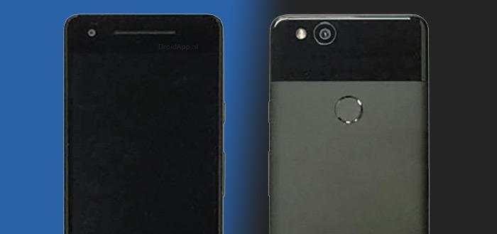 Pixel 2 langs bij FCC: Android 8.0.1 en Active Edge voor knijpbaar frame