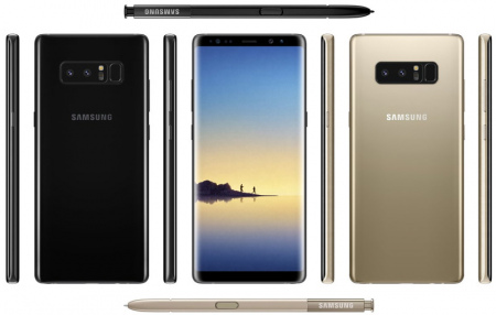 Samsung Galaxy Note 8 livestream