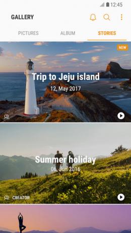 Samsung Gallery app