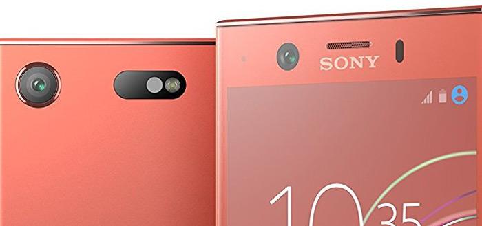 Nu ook persfoto's van Sony Xperia XZ1 Compact naar buiten gebracht