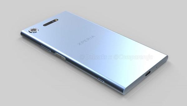 Sony Xperia XZ1 render