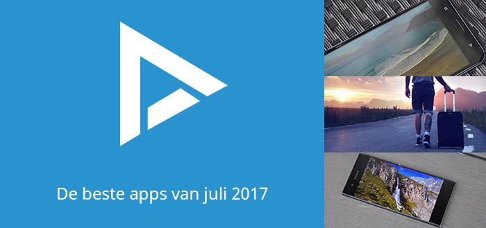 De 8 beste apps van juli 2017 (+ het belangrijkste nieuws)
